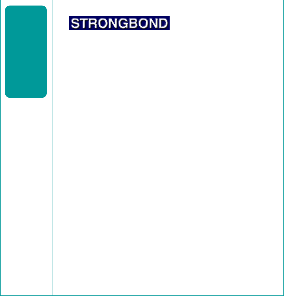 Strongbond Adhesives